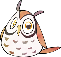 Little Pudgy Owl by PrecosiousChild