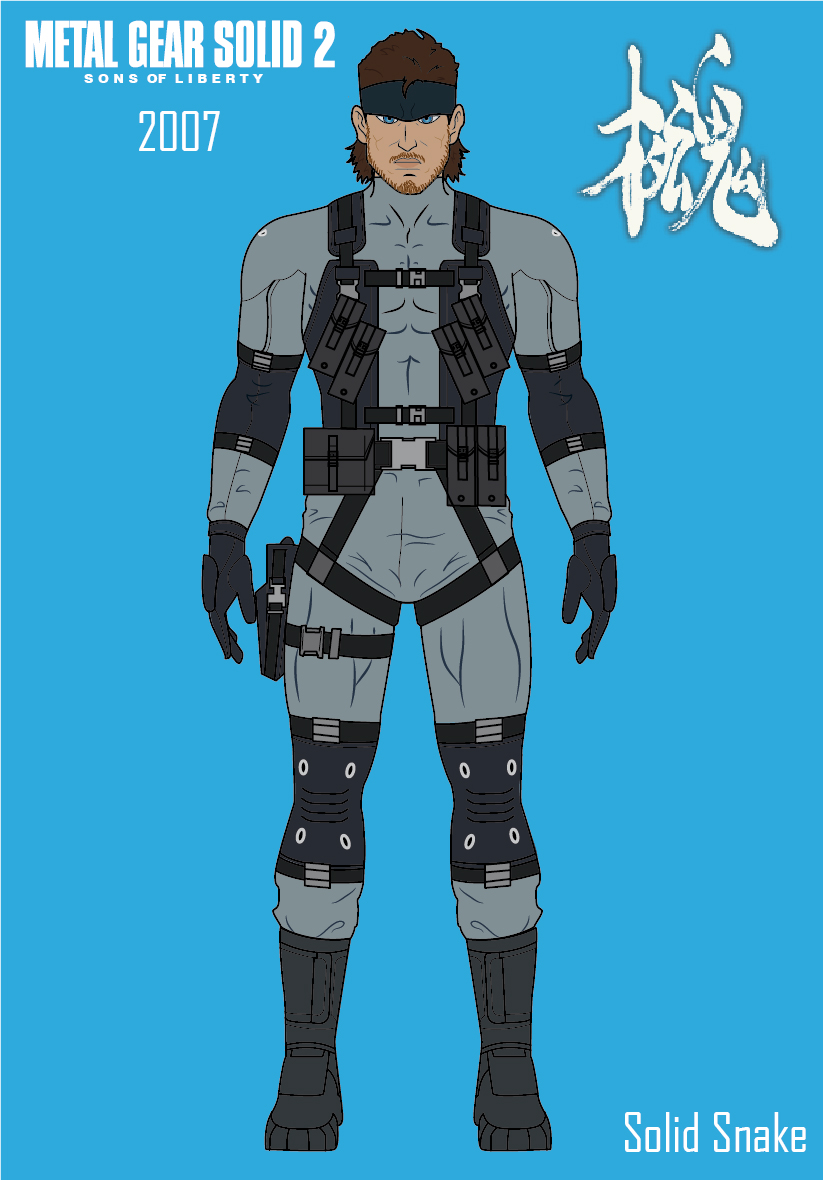 Solid Snake//Metal Gear Solid 2:SoL by efrajoey1 on DeviantArt