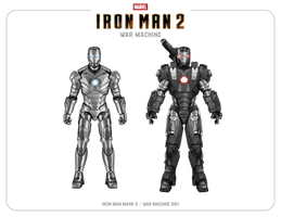 War Machine 001 (Iron Man 2)