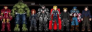 Pre-Avengers Phase I (2008-2011)