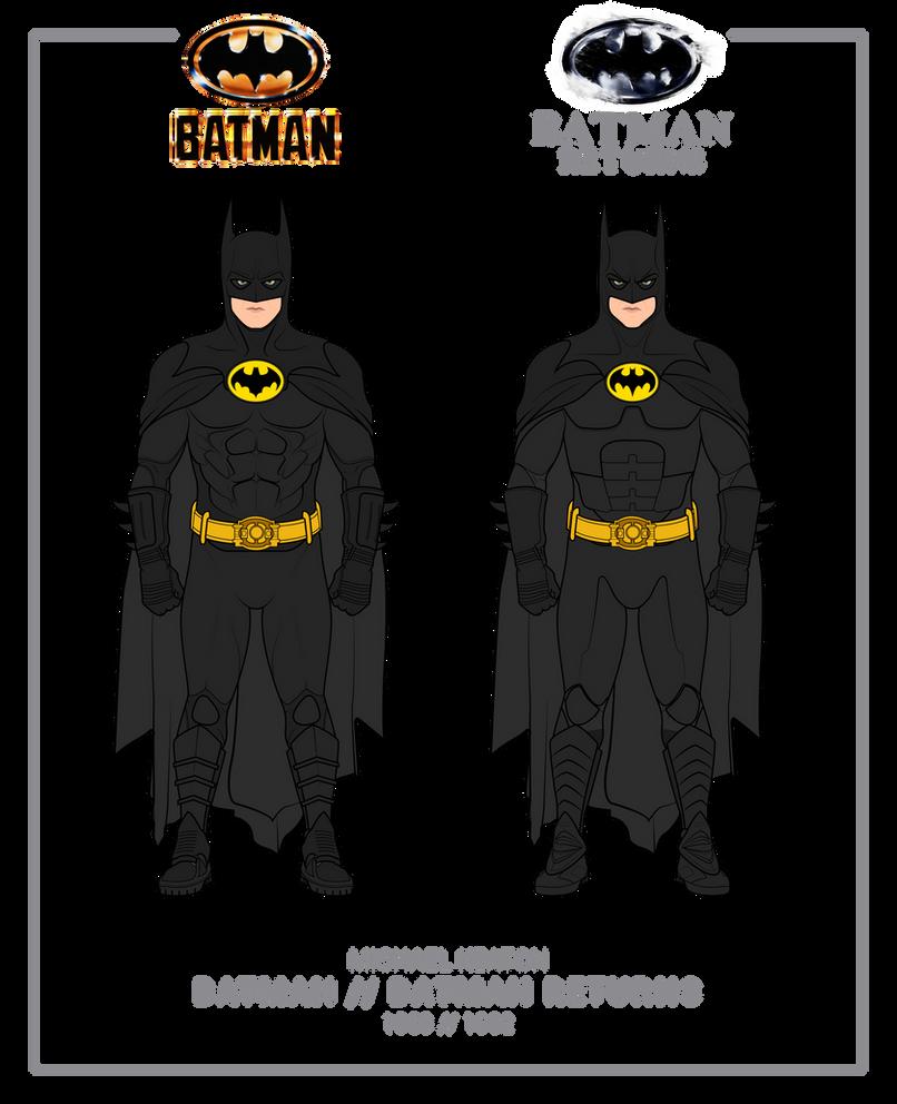 Burton S Batman 1989 1992 By Efrajoey1 On Deviantart