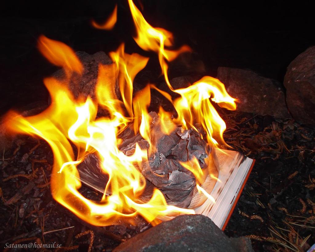 Burn the Book of Lies Part I by satanen