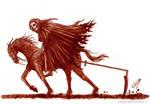 Soultaker (Painted in real blood)