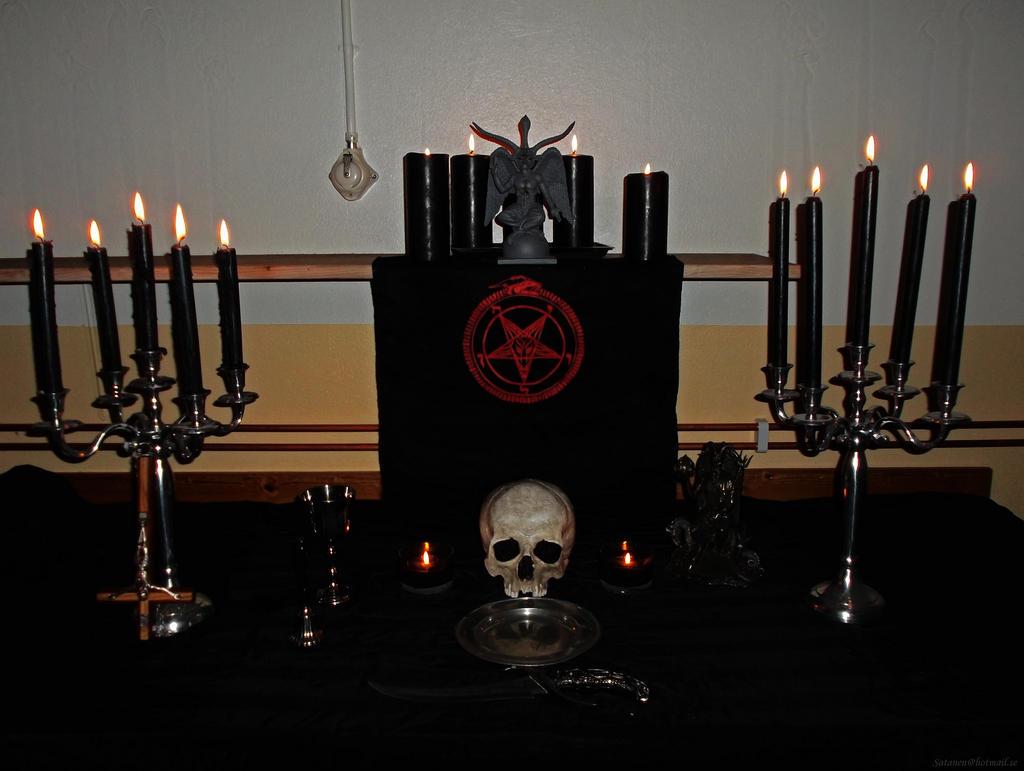 The Sacreligious Altar ov thy Master SATAN by satanen on DeviantArt