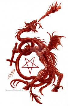 The Despair ov Tiamat  (Painted in real blood.)
