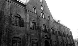 Kronhuset (Black and white) by satanen