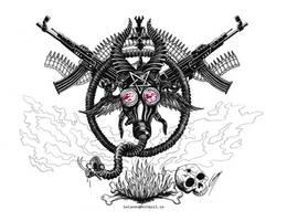 BLACK METAL is WAR by satanen