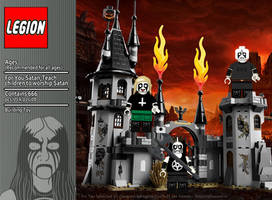 For You Satan LEGION Building Toy by satanen