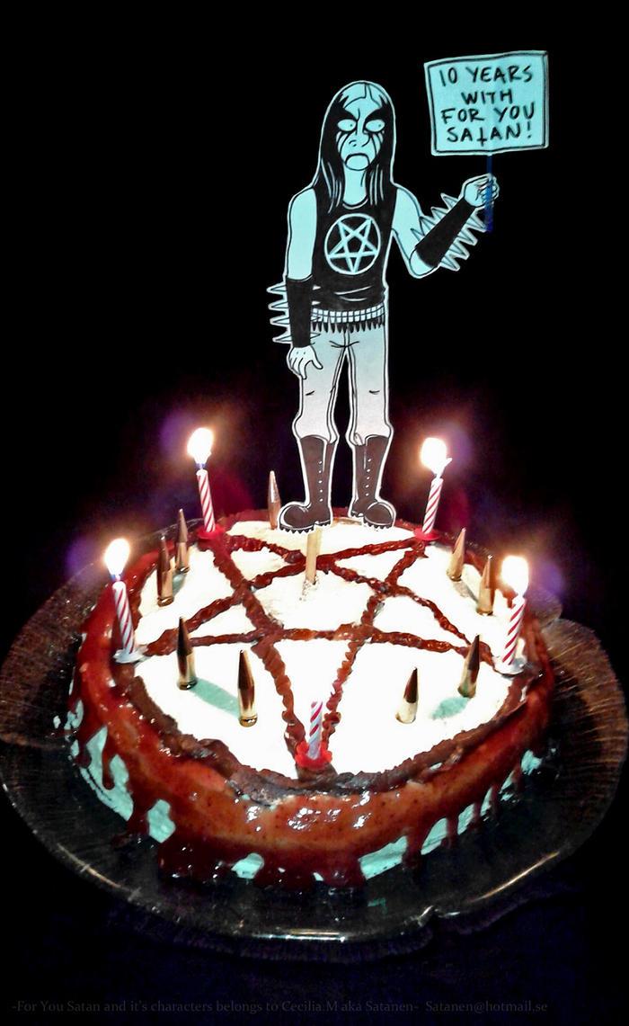 For You Satan Cake By Satanen On Deviantart