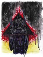 Messenger ov the Damned by satanen