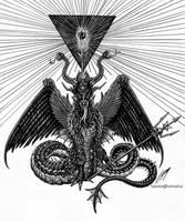 Black Void Meditation by satanen