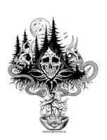 Dark Roots by satanen