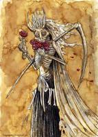 Santa Muerte by satanen