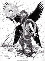 Pazuzu The Bearer of Storms by satanen