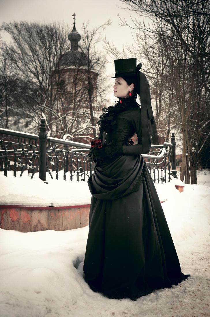 Victorian Black Gothic Dress by BlackMart ...