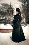 Victorian Black Gothic Dress