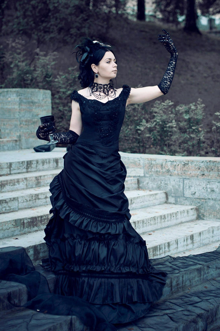 Nice Gothic Victorian Gowns Image Collection - Wedding and flowers ...