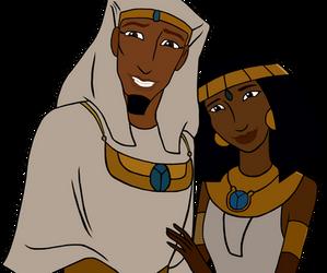 Joseph and Asenath by DarkestDragonKing