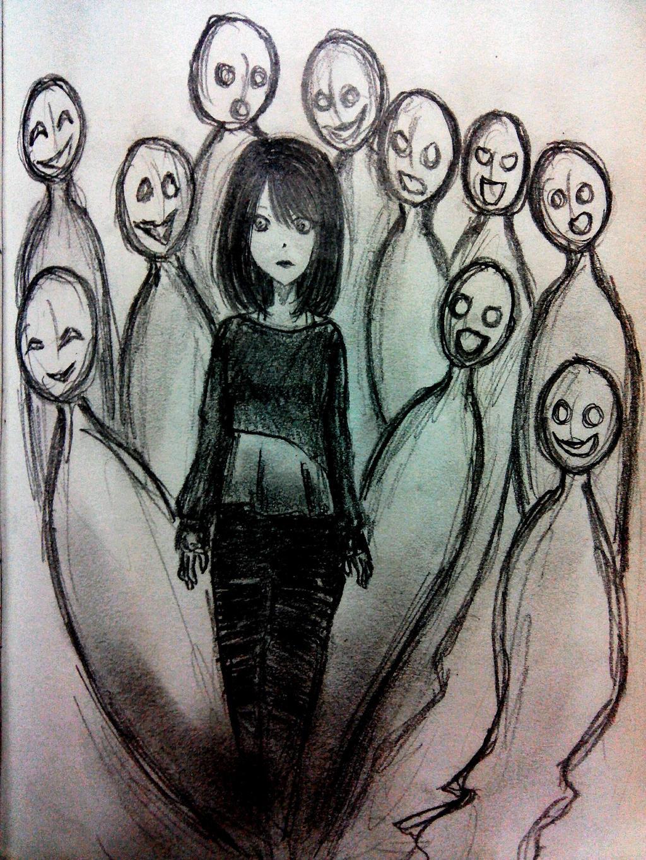 bullying by CrazyNightDemon
