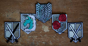 Attack on Titan Patches (1 of 1)
