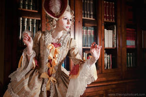 Baroque Times: In The Library by THEORY76
