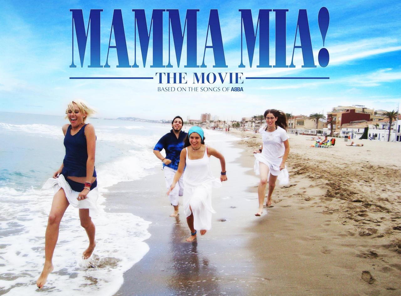 mamma mia movie poster 1 by kimdellorens on deviantart