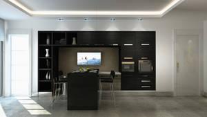 Mutfak Black kitchen 04
