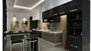 Mutfak Black kitchen 06