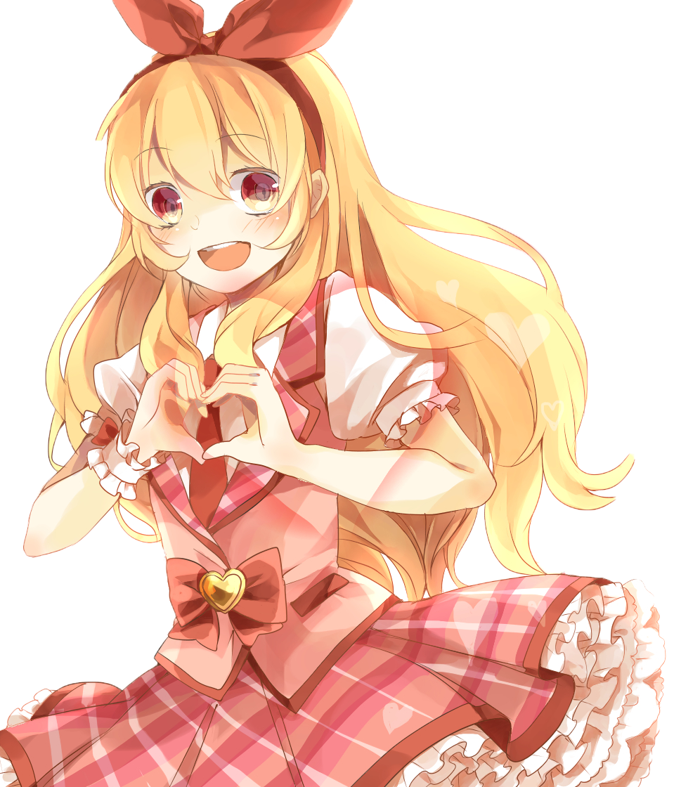 Hoshimiya Ichigo Full Render Png Anime Girl Blonde By
