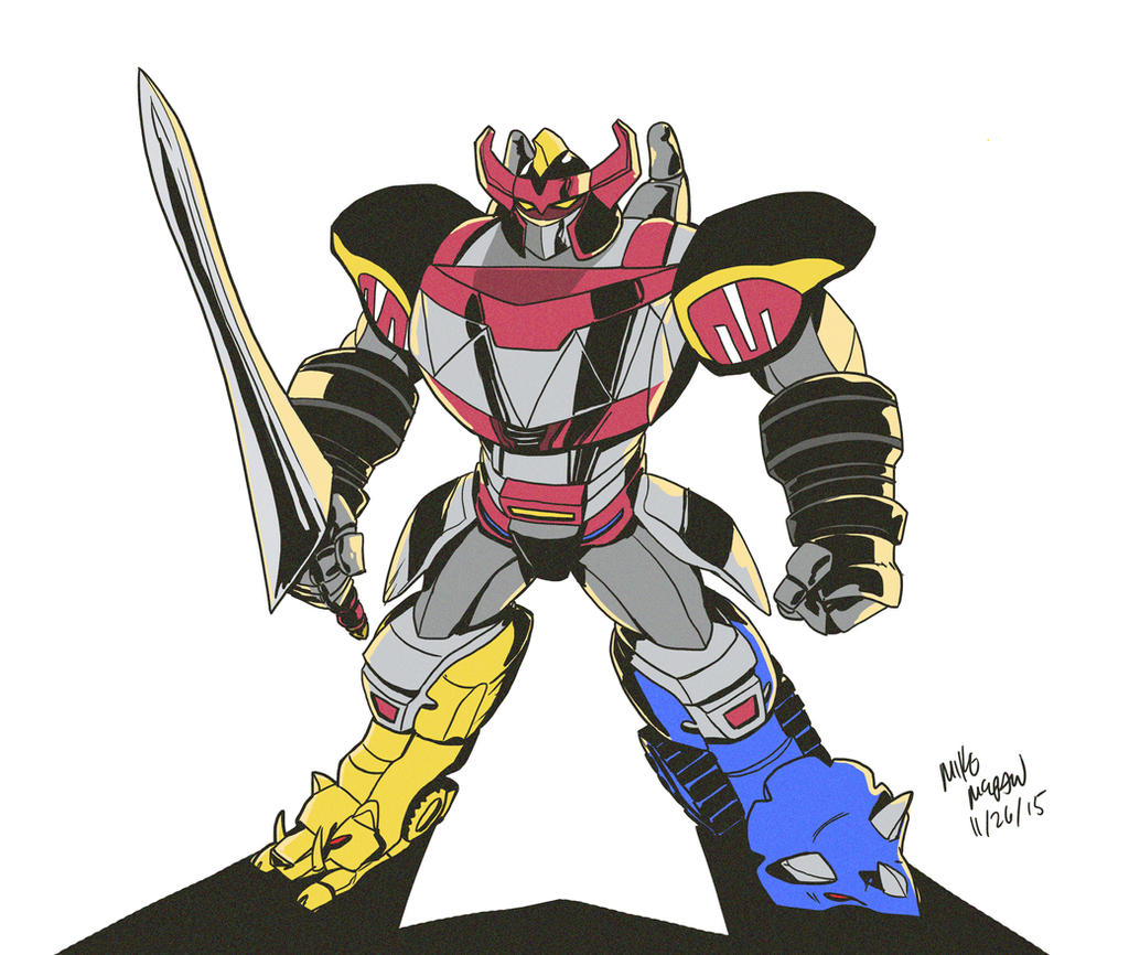 Mighty Morphin Power Rangers Wallpaper: Mighty Morphin Megazord!!!! By Mikethewolf On DeviantArt
