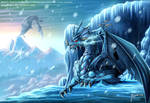 Ice Dragon by Magolobo