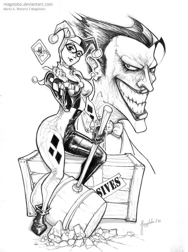Harley Queen Joker By Magolobo On Deviantart