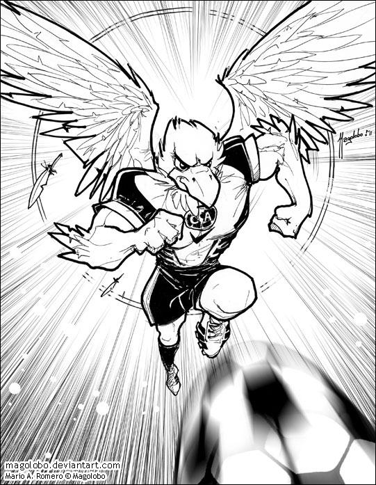 Aguila del America by Magolobo on DeviantArt
