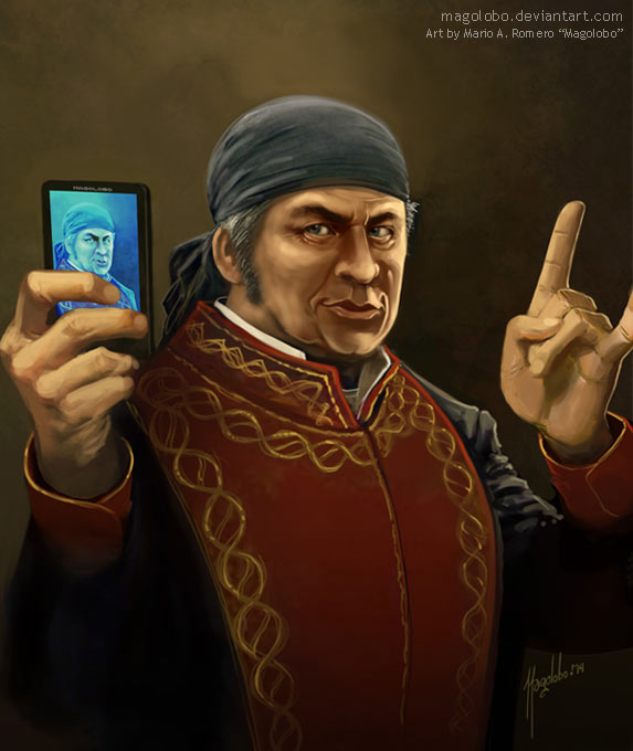 MORELOS Selfie by Magolobo