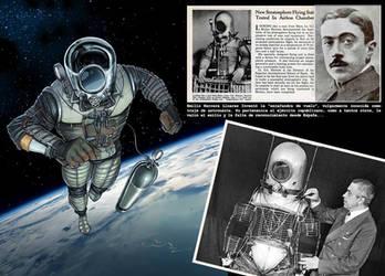 Prototipo de traje de astronauta by Magolobo