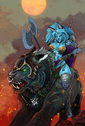 Wild Beastmaster by Magolobo
