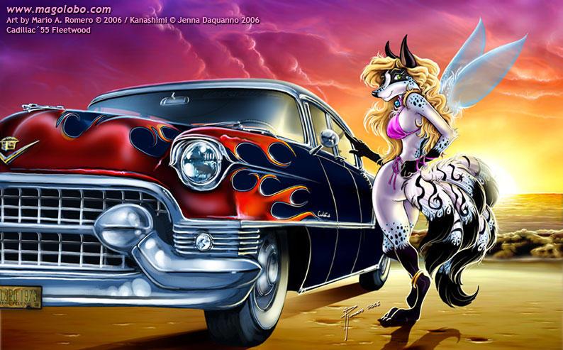 Kanashimi and Cadillac 55 by Magolobo