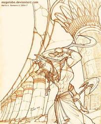 La ira de Anubis by Magolobo