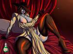Lady Dimitrescu Fanart v. SFW by DarkPoisonArt