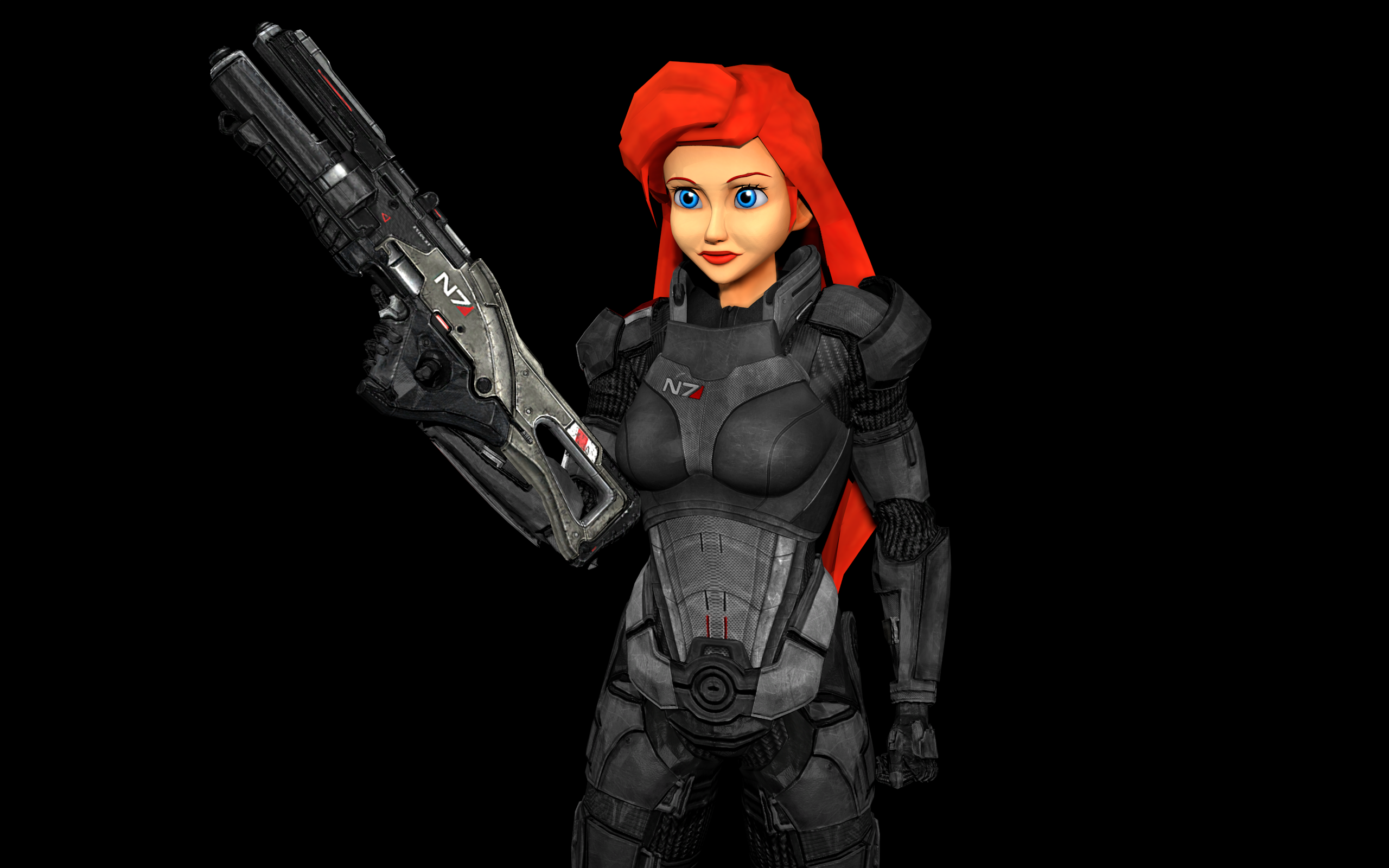 Commander Ariel Shepard by OutaDimes