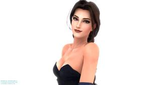 Lara Croft - Opera Dress