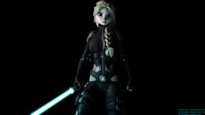 Jedi Elsa V3 by OutaDimes