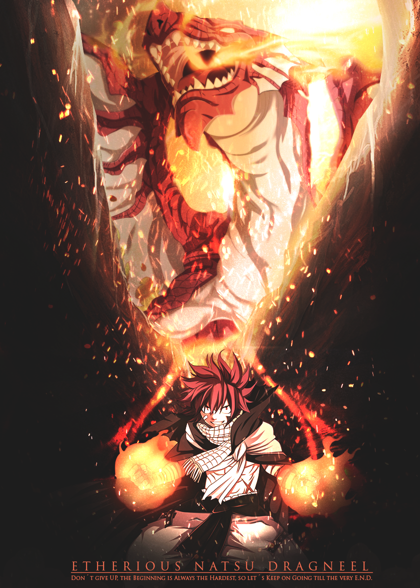 [LP] - Etherious Natsu Dragneel [E.N.D] by ChromeFalcon on ...