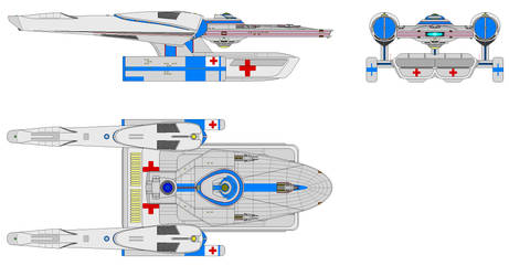 Light Medical Cruiser by Bear069