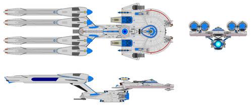 Heavy Cruiser by Bear069