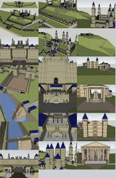 Castle for ADnD 2nd Edition by Bear069