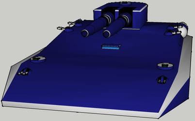 Liberator Hover Tank for Star Wars D6 RPG by Bear069