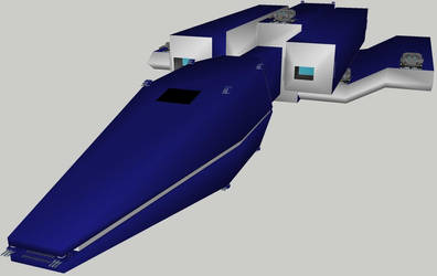 Raptor class Battlecruiser for Star Wars D6 RPG by Bear069