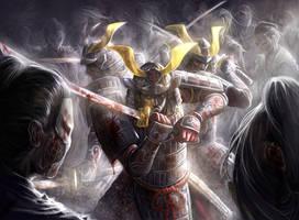 L5R_horde ambush by chrisnfy85
