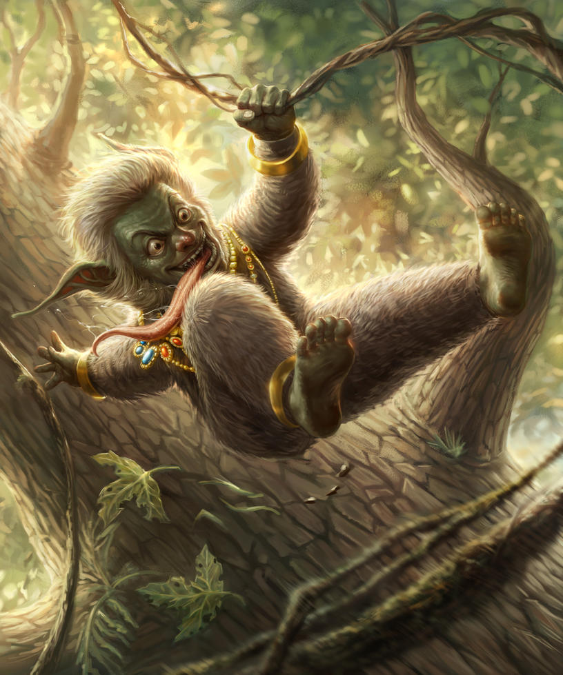 Tree dancer Dobo_MDZ by chrisnfy85